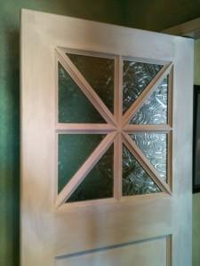 Double swing kitchen door