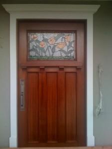 Honduras Mahogany front door