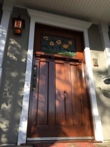 Original Mahogany front door